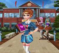 Anna Frozen Okul Hazırlığı Oyna