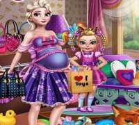 Anne Eliza Alışveriş Hazırlığı Oyna