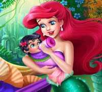 Ariel Bebek Bakımı Oyna