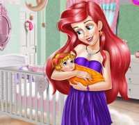 Ariel Bebek Odası Dekoru Oyna