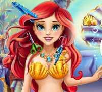 Ariel Gerçek Saç Kesimi Oyna