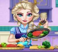 Aşçı Elsa Frozen Oyna