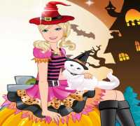 Barbie Cadılar Bayramı 2 Oyna