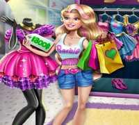 Barbie Gerçek Alışveriş Oyna