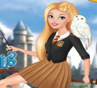 Barbie Harry Potter Hayranı Oyna