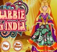 Barbie Hindistan Tatili Oyna