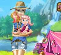 Barbie Kampa Gidiyor