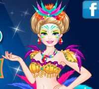 Barbie Karnaval Hazırlığı Oyna