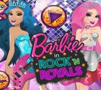 Barbie Kraliyet Rock Tarzı Oyna
