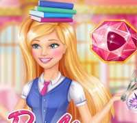 Barbie Nezaket Okulu Oyna