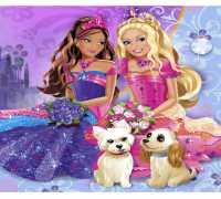 Barbie Sihirli Makyaj Oyna