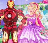 Barbie Süper Kahraman Düğünü Oyna