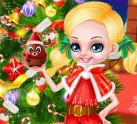 Barbie Ve Ken Yılbaşı Bebekleri Oyna