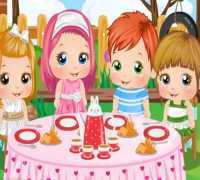 Bebek Alice Çay Partisi Oyna