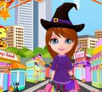 Bebek Barbie Cadılar Bayramı Alışverişi Oyna