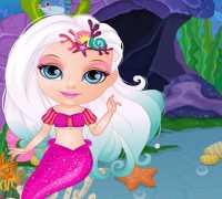 Bebek Barbie Deniz Kızı Oyna
