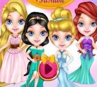 Bebek Barbie Disney Modası Oyna