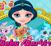 Bebek Barbie Prenses Yasemin Oyna