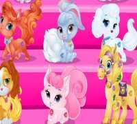 Bebek Barbie Saray Hayvanları Oyna
