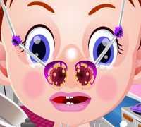 Bebek Emma Burun Doktoru Oyna