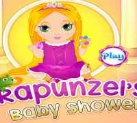 Bebek Rapunzeli Yıka Oyna