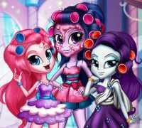 Canterlot Kızlar Gerçek Makyaj Oyna