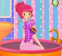 Çilek Kız Spa Oyna