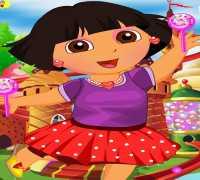 Dora Şeker Diyarında Oyna