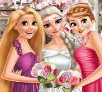 Elsa Frozen Düğün Günü Oyna