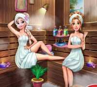 Elsa Sauna Keyfi Oyna