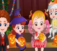 Hazel Bebek Cadılar Bayramı Oyna