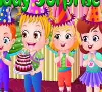Hazel Bebek Doğum Günü Partisi Oyna