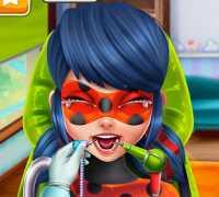 Ladybug Dişçide Oyna
