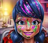 Ladybug Eğlenceli Makyaj Oyna