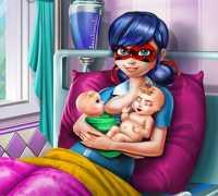Ladybug İkiz Bebekleri Oyna