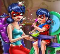 Ladybug Kahvaltı Zamanı Oyna