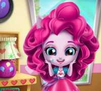 Minik Pinkie Pie Oda Dekoru Oyna