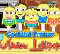Minion Lolipopları Oyna