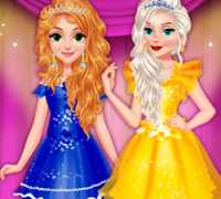 Prenses Balerin Elbise Tasarımı Oyna