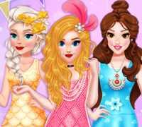 Prenses Göz Kamaştırıcı Elbise Tasarımı Oyna
