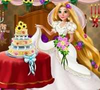 Prenses Rapunzel Düğün Dekoru Oyna