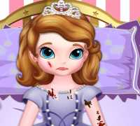 Prenses Sofia Buz Paten Kazası Oyna