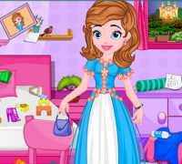 Prenses Sofia Yatak Odası Temizle Oyna