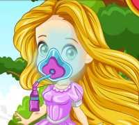 Rapunzel Bahçe Kazası Oyna