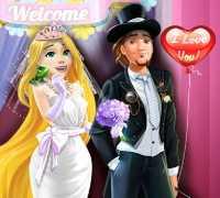 Rapunzel Düğün Gecesi Oyna