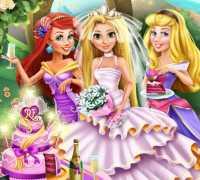 Rapunzel Düğün Partisi Oyna