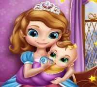 Sofia Bebek Bakımı Oyna