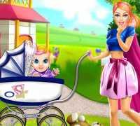 Süper Barbie Anne Oyna