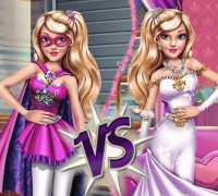 Süper Kahramanlar Ve Prensesler Oyna