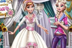 Anna Frozen Düğün Hazırlığı